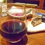 旬菜 籐や - グラスワイン(赤)