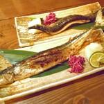 旬菜 籐や - 北海道 さんま塩焼き