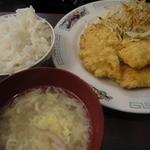 杏'S - 料理写真:今日の「日替わり500円