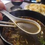 杏'S - スープは黒ゴマの香りが