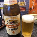 桃太郎すし - 瓶ビール(中瓶)