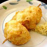 うわさの麺蔵 - じゃが芋の天ぷら