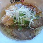 壱丁目ラーメン - お昼限定「ダブル肉旨塩:630円」