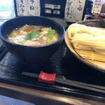 うどん家 一 - 料理写真:肉煮干し(^。^)❗️煮干しの香りが⭐️
