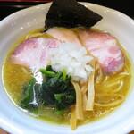 麺屋 鶏いち - 料理写真:濃厚鶏白湯らーめ (醤油)ん 800円