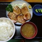 てりや - 料理写真:焼チャーシュー定食
