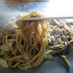 あめや - 料理写真:うどん玉とそば玉を一緒に炒めた品です