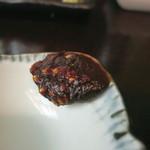 神田まつや - 蕎麦味噌