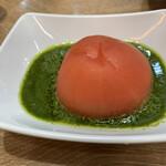 赤白 - まるごとトマトのジェノベーゼ