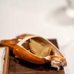 ジョンティ アッシュ - 2021.10 蟹味噌のクレープ