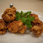竹爐山房 - 【鶏の唐揚げ エビ味噌風味】¥1743