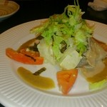 る・それいゆ - 島豆腐と焼肉のサラダ仕立て