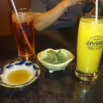 る・それいゆ - アセロラジュースとマンゴージュース