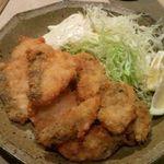 焼鶏館 - タラフライ580円&カキフライ580円
