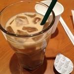 タリーズコーヒー - ソイラテ アイス ショート 370円