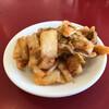 支那そば北熊 - 料理写真:食べ放題のキムチ 酸っぱい