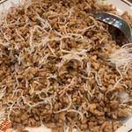 民生 廣東料理店 - 豚肉とミンチ