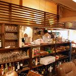コンシールカフェ ミヤマスザカ - キッチン前