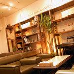 コンシールカフェ ミヤマスザカ - 喫煙席