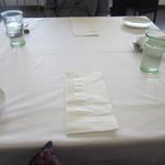 リストランテ シエロ - テーブル