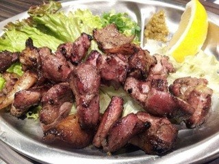 串のきいち - ★ 宮崎地鶏のあぶり焼き ★750円