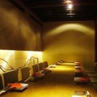 落ち着いた大人の寛ぎ個室空間