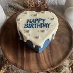 Heart Cake (Blue)