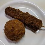 牛蔵売店 - 料理写真:「豚ヒレ串カツ」「コロッケ」