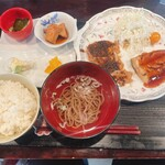 秋田さくら - 桃豚・お魚あんかけミックスランチ
