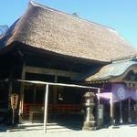 15961717 - 青井阿蘇神社の境内でいただきました。