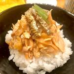 159611585 - 旨味たっぷりのハラスご飯!