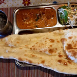 タンドリーレストラン アサ - 料理写真:ランチメニューセットのAセット