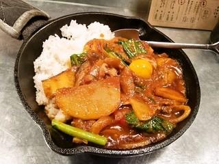 野菜を食べるカレーcamp エキマルシェ大阪店 - 一日分の野菜カレー