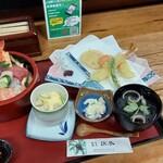 浜誉 - 海鮮ちらし定食(1540)