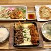 韓美膳 - 料理写真:チーズダッカルビ&牛カルビのセット