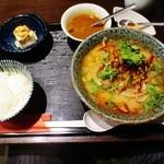 風土木 - 辛味フォー(香菜トッピング)ミニカレーセット