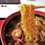 札幌国際カントリークラブ - 松島ラーメンの麺