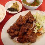 15965914 - 油淋鶏定食(2012/11/21撮影)