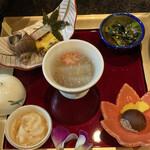 Kankuuonsenhoterugademparesu - 前菜
