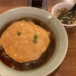 龍王 - 天津丼(大盛) 650円