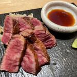 肉の宇佐川 - 有田牛ザブトンステーキ