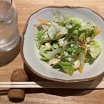 肉の宇佐川 - サラダ