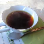 キッチン彩 - 最後はコーヒーをいただいてゆっくりさせていただきました。