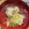 廻鮮寿司 塩釜港 - 料理写真:白子汁