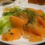 イケア・レストラン - サーモンのマリネ 395円(夕方)