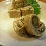 三福 - 鰻のゆば巻き