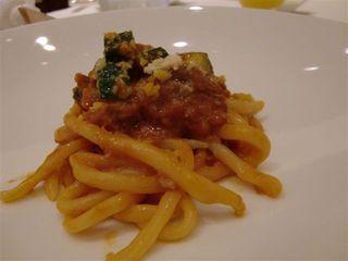フェニーチェ ディ アクアパッツァ - ピチ 新しいシェフになってからの料理です