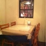 イタリア食堂 LAPANCIA - 店内
