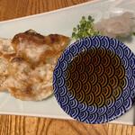 酒と料理のなつ - 餃子 390円