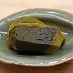 日本橋蛎殻町 すぎた - アワビの肝の味噌漬け